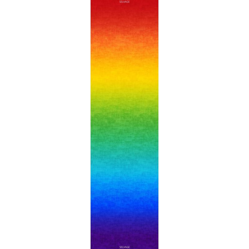 OMBRE FABRIC - MULTI RAINBOW GRADATION