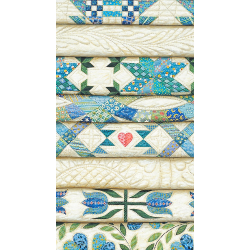 POCKET CALENDAR 2018/2019 - STACKED BLUE QUILTS