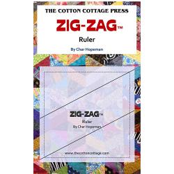 ZIG-ZAG RULER  COTTON COTTAGE PRESS - 1