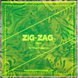 ZIG-ZAG RULER  COTTON COTTAGE PRESS - 3