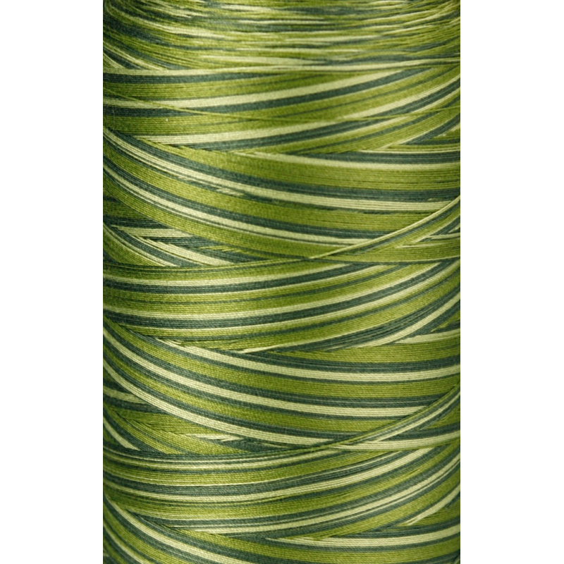 1903 IRIS ULTRA COTTON QUILTING THREAD-GREEN COMBO
