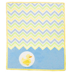 SADA NA UŠITÍ Cuddle Kit Ziggy Blue Duck 29x35in SHANNON FABRICS - 2