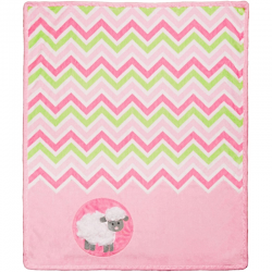 SADA NA UŠITÍ Cuddle Kit Ziggy Pink Lamb 29x35in