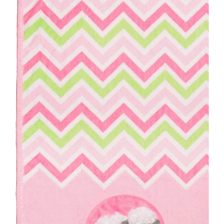 SADA NA UŠITÍ Cuddle Kit Ziggy Pink Lamb 29x35in SHANNON FABRICS - 4