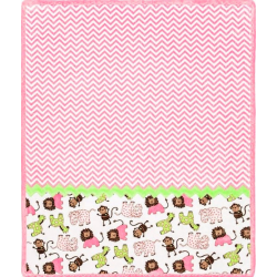 SADA NA UŠITÍ Cuddle Kit Ziggy Buddies Pink 29x35i