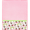 Cuddle Kit Ziggy Buddies Pink 29x35in