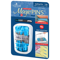 TAILOR MATE MAGIC PINS-ŠPENDLÍKY NA QUILTING-50 KS