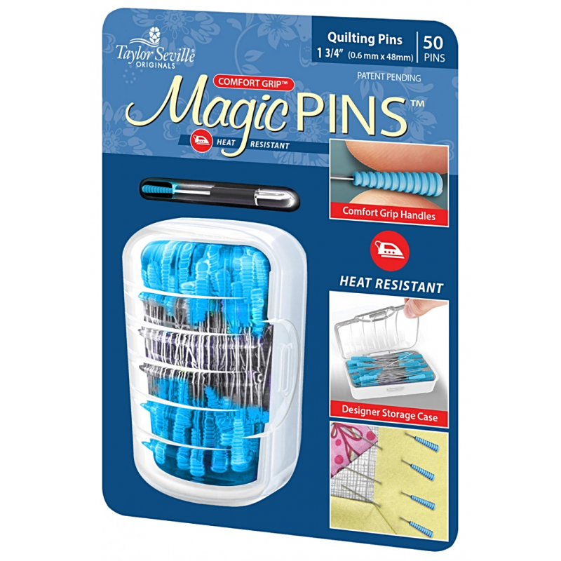 TAILOR MATE MAGIC PINS-PINS FOR QUILTING-50 PCS