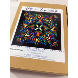 Quilt Kit Crystal Prism 90in x 90in HOFFMAN FABRICS - 3