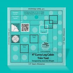 """Non Slip Curvy Log Cabin Trim Tool 4"""""""