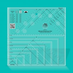 Ultimate Flying Geese Template and Quilt Ruler CREATIVE GRIDS - 1