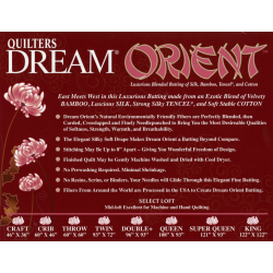 QUILTERS DREAM - ORIENT SELECT NATURAL- QUEEN Quilters Dream - 1
