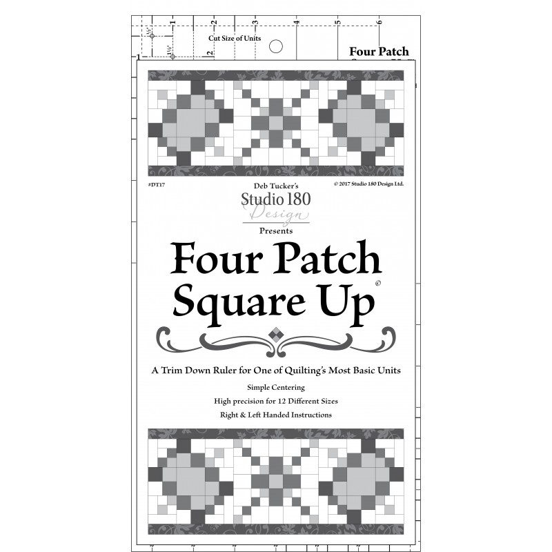 FOUR PATCH TRIMMER -  Deb Tucker© STUDIO 180 DESIGN - 1