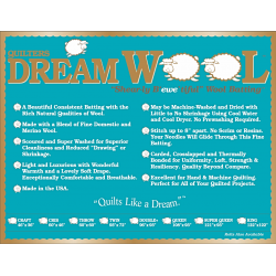 QUILTERS DREAM-BAU-100% WOLLE - VOLL