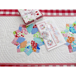 DOUBLE WIDE FOUR PATCH DRESDEN RULER ME AND MY SISTER DESIGN - 2