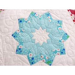 DOUBLE WIDE FOUR PATCH DRESDEN RULER ME AND MY SISTER DESIGN - 3