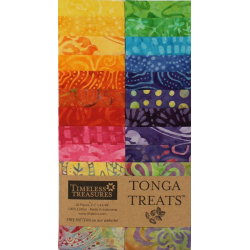 TONGA BATIK RIO - JELLY ROLL 20 pieces