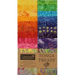 TONGA BATIK-RIO - JELLY ROLL-20 Stück