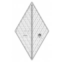 60 DEGREE DIAMOND RULER