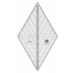 60 DEGREE DIAMOND RULER