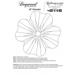 DOGWOOD- prostírání - JUDY NIEMEYER Quiltworx - Judy Niemeyer Quilting - 7