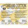 QUILTERS DREAM SUPREME - TARPAULINS 100% COTTON-TWIN