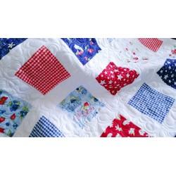 Dětská patchwork deka  - 2