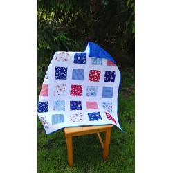 Dětská patchwork deka  - 3