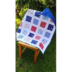 Modern Baby Quilt, Toddler Quilt, Handmade Baby /Toddler Quilt,, Patchwork Quilt,Modern Baby Blanket,Handmade Cotton Quilt