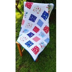 Dětská patchwork deka  - 4