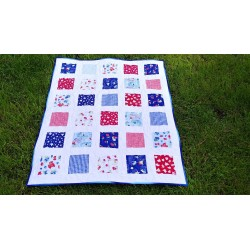 Dětská patchwork deka  - 5
