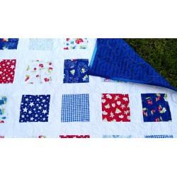 Dětská patchwork deka  - 6