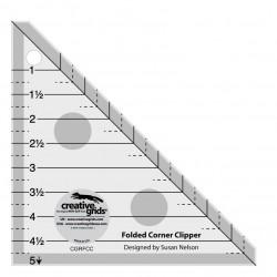 Pravítko na patchwork  FOLDED CORNER CLIPPER CREATIVE GRIDS - 1