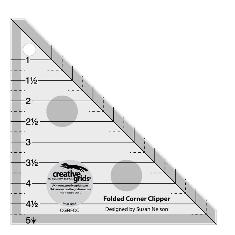 CREATIVE GRIDS  FOLDED CORNER CLIPPER  CREATIVE GRIDS - 1