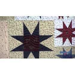 STRIPPY STARS TOOL 5in x 7-1/2in QUILT RULER CREATIVE GRIDS - 3