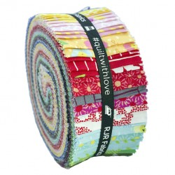 copy of KONA SOLIDS - WHITE JELLY ROLL RJR Fabrics - 1