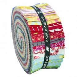 copy of KONA SOLIDS - WHITE JELLY ROLL RJR Fabrics - 1