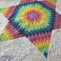 NOURISH A LONE STAR QUILT Jaybird Quilts - 4
