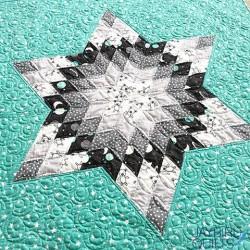NOURISH A LONE STAR QUILT Jaybird Quilts - 5