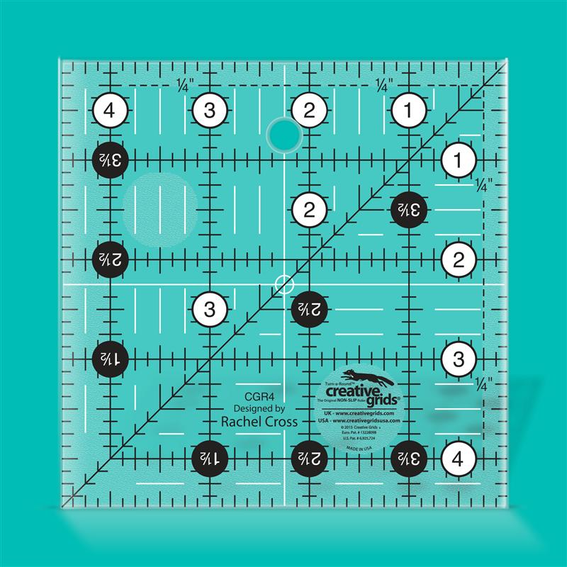 4 1/2 inch square CREATIVE GRIDS - 1