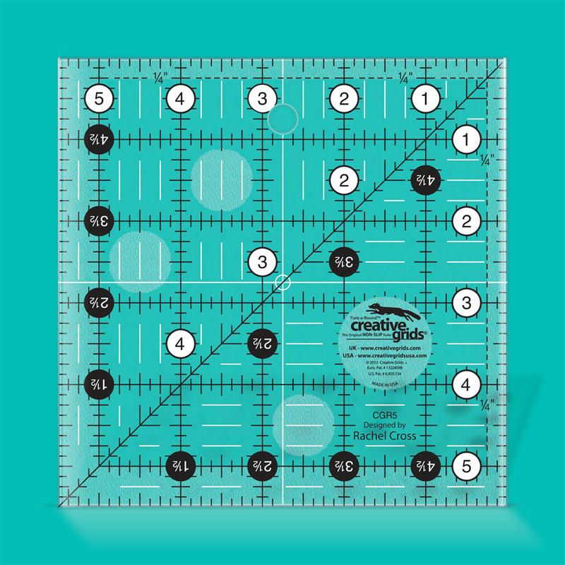 5 1/2 inch square CREATIVE GRIDS - 1