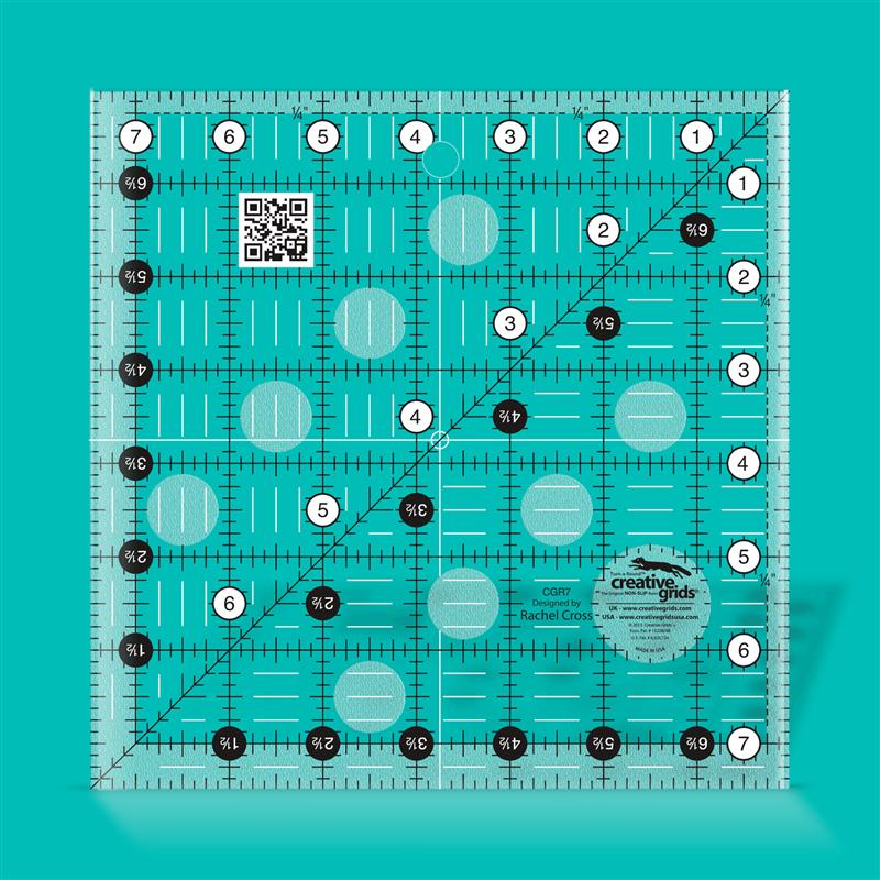 7 1/2 inch square CREATIVE GRIDS - 1
