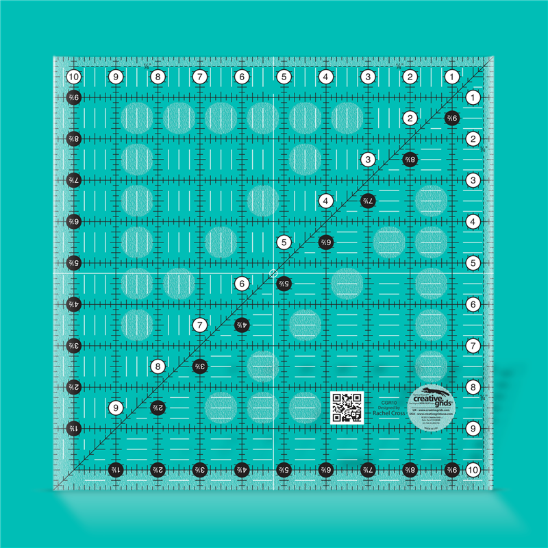 10 1/2 inch square CREATIVE GRIDS - 1