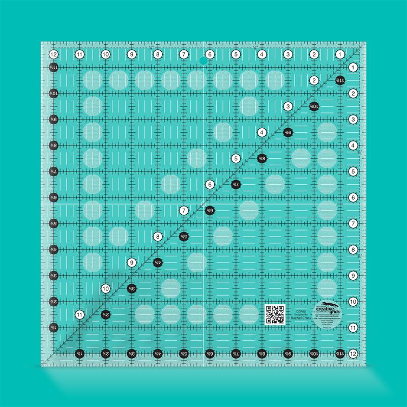 12 1/2 inch square CREATIVE GRIDS - 1