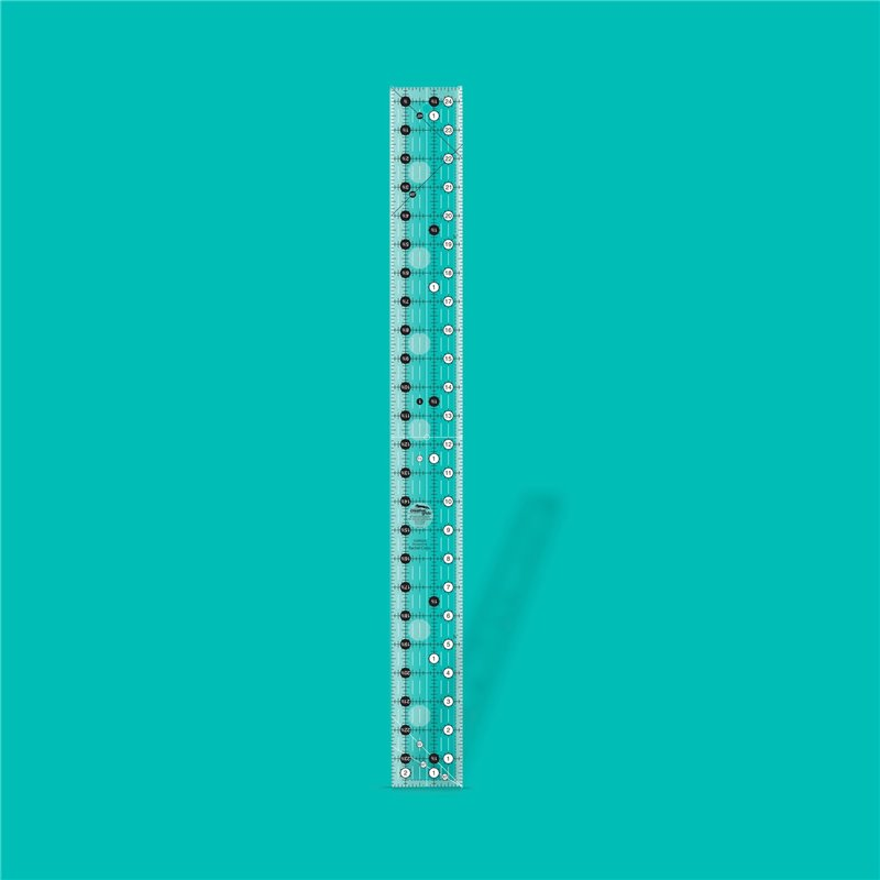 Quilt ruler 2 1/2 inch x 24 1/2 inch CREATIVE GRIDS - 1