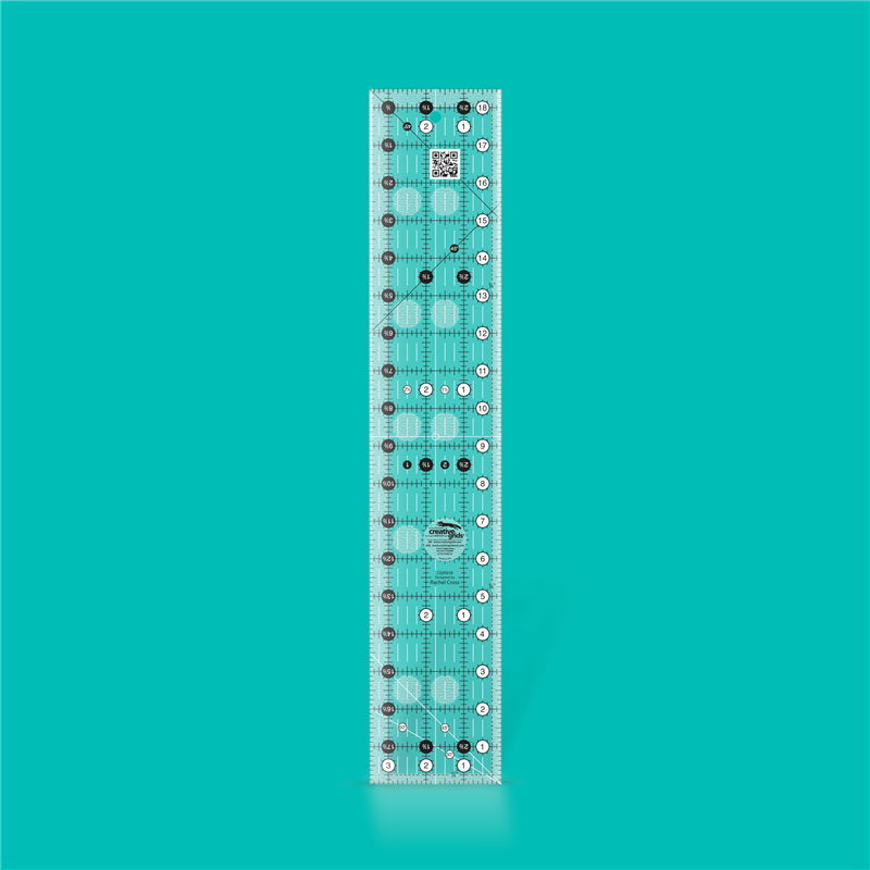 Quilt ruler 3 1/2 inch x 18 1/2 inch CREATIVE GRIDS - 1