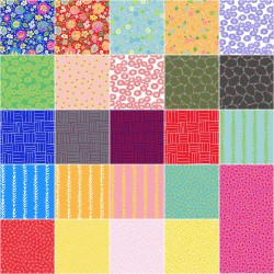 PLAYMAKER  Fat Quarter Bundle 24 ks RJR Fabrics - 2