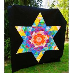 Patchwork deka - BOLD STAR  - 1
