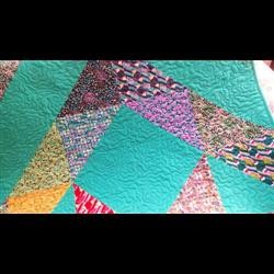 Patchwork deka - BOLD STAR