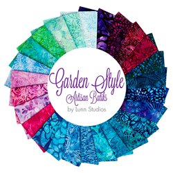 GARDEN STYLE BATIK  Fat Quarter Bundle 26 ks